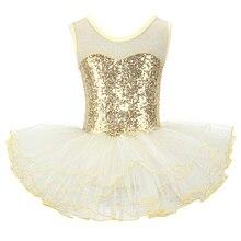Nizza Mädchen Ballerina Fee Prom Party Kostüm Kinder Pailletten Blume Kleid Dancewear Gymnastic Trikot Ballett Tutu Kleid