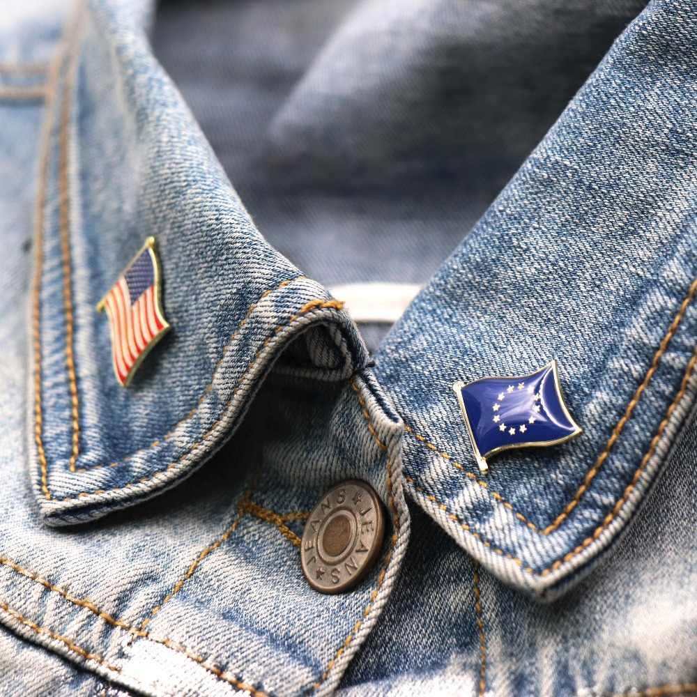 Grosir 300 + Negara Bendera Laple Pin Pin Lencana untuk Anda Pilih