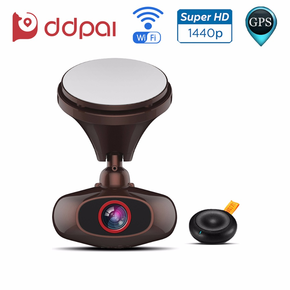 DDPai M6 Plus Wifi Dash Cam GPS Car DVR 1440P Ultra HD Night Vision Car Camera