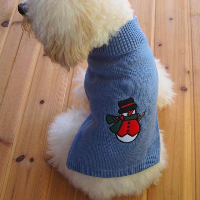 Stricken Hund Kleidung Haustier Winter Warme Pullover Rollkragen ...