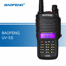 Baofeng UV5S Walkie Talkies Dual Band FM Transceiver Professional Two Way Radio Ham Radios Portable CB Radio Walkie-talkies
