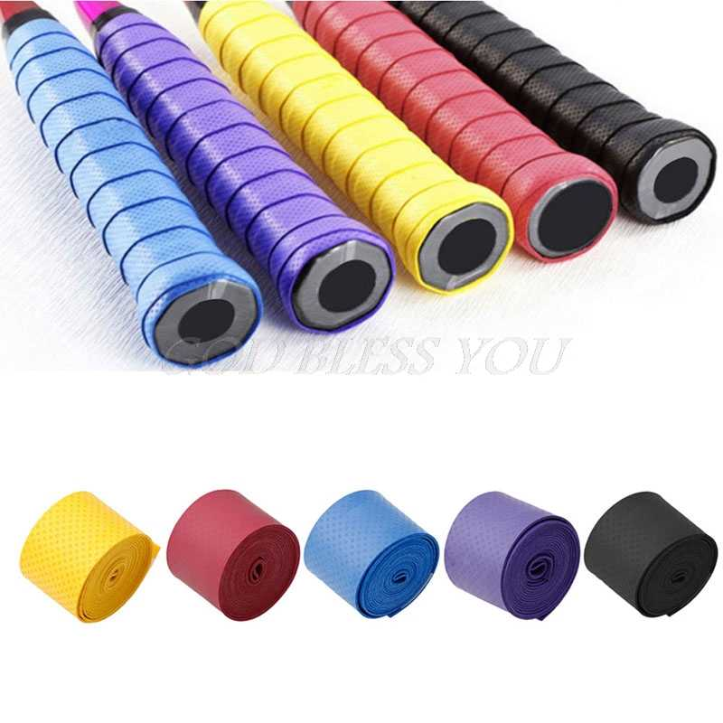 1PC Absorb Sweat Anti Slip Racket Bat Overgrip Roll Tennis Badminton Handle Tape
