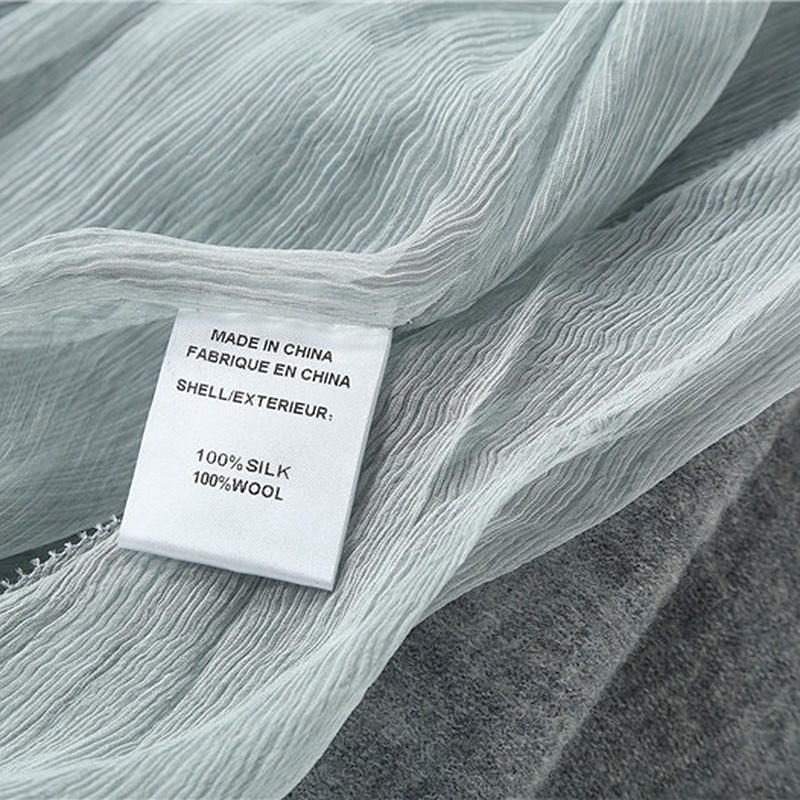 High-end Coat Women 100% Wool Patchwork 100% Silk Pattern Ruffled Collar Long Sleeves Pleated Elegant Style New Fashion 2018