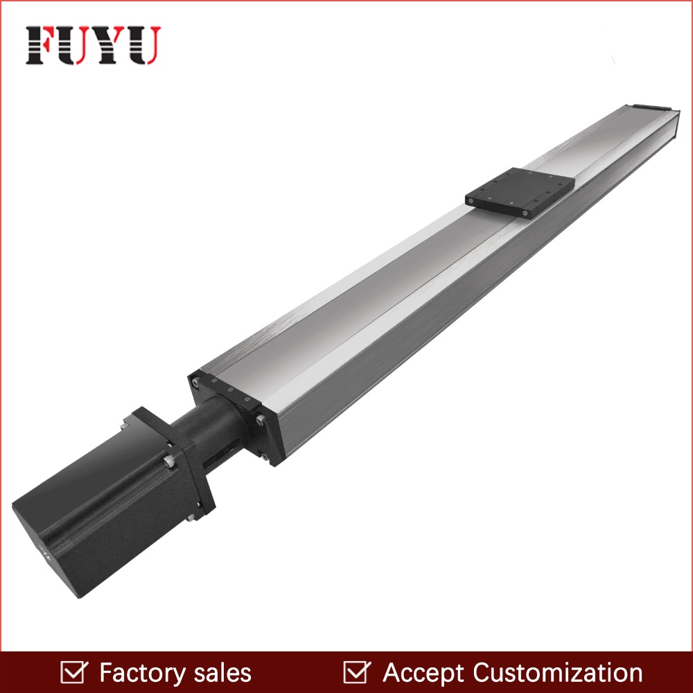 Free shipping 1500mm stroke waterproof linear guide motion rail dustproof linear stage actuator ball screw for cnc test machine цена