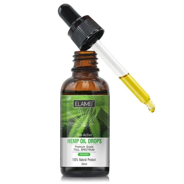 Organic Hemp Seed Oil: Bioactive 30 ml