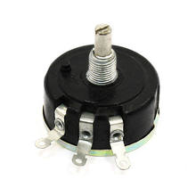 Diâmetro do eixo de 6mm 1k/2k2/3k3/4k7/5k1/5k6/6k8/10k/22k/33k/47k ohm 3w resistor variável wirewound potenciômetro wx111 (030) 1PC