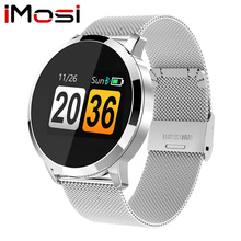 Q8 Smart Watch OLED Color Screen blood pressure Smartwatch women Fashion Fitness Tracker Heart Rate monitor цена в Москве и Питере