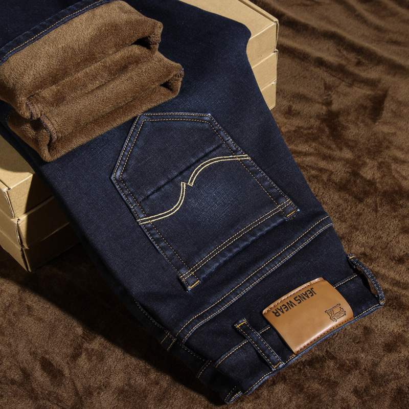 Warm Soft Jeans for Men