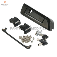 Black Motorcycle Tour Pak Hinges and Latch Kit Case for Harley Touring Road King Glide 2014 2017