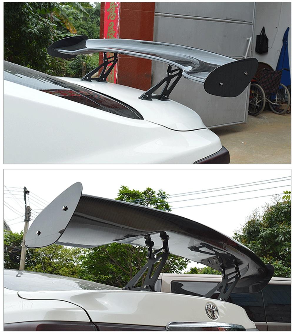 MONTFORD Matériau de Fiber de Carbone Aileron Arrière Queue Tronc Wing Boot Lip Voiture-Style Pour Toyota GT86 FT86 Subaru BRZ 2013 2014 2015