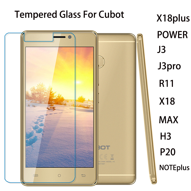 Cubot X18 H3 J3 X18 Plus J3 Pro R11 P20 PowerMAX Note Plus 스크린 보호기 강화 유리 방폭 image