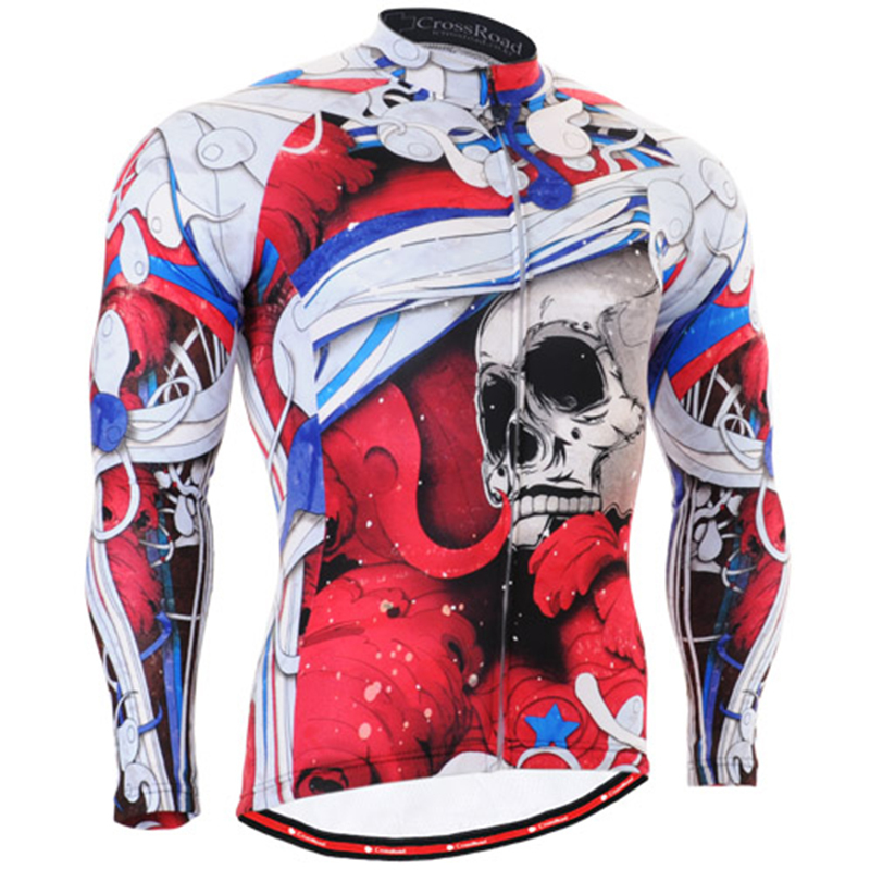 Men Cycling Jersey Long Sleeve Ride Clothing Breathable Tracksuits Sports Suit Men Bicycle Male Clothes tights Biking Jersey