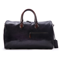 2017 FILDENS Vintage Leather Tote Bags Handmade Genuine Leather Mens Laptop Handbag