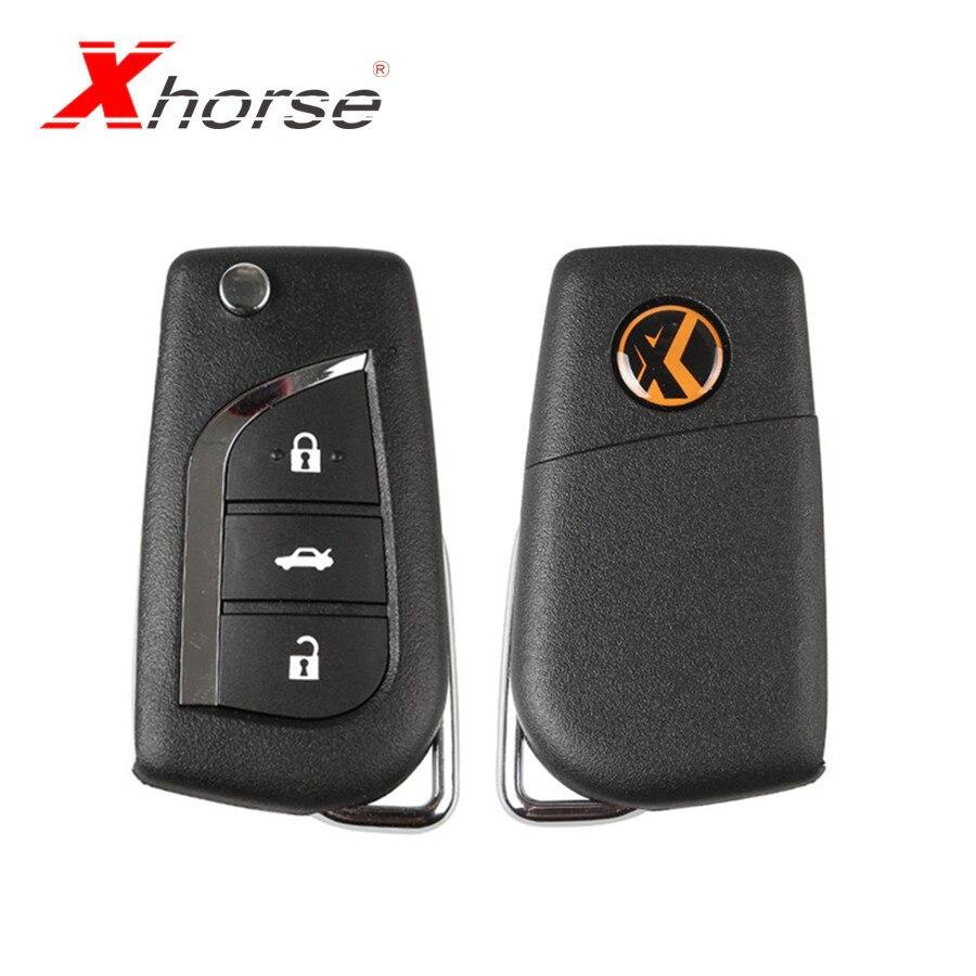 Analytisch Xhorse Vvdi2 Voor Toyota Universal Remote Key 3 Knoppen Xhorse Afstandsbediening Sleutel X008