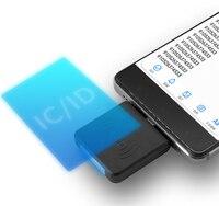 Мини NFC считыватель мобильный телефон IC карта считыватель интерфейс USB Поддержка Android системы без питания Бесплатная доставка