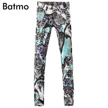 2017 new arrival high quality classic casual skinny printed jeans men ,men's casual printed pants ,size 28 to 36