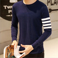 2016 Autumn Brand Clothing Knitting Sweater Mens Dressy O-Neck Jersey Casual Shirt Pullover Male 16 Colors Basic Tops