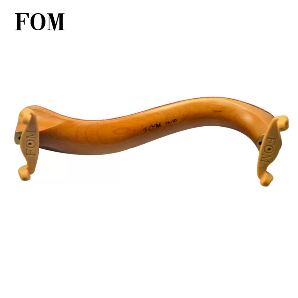 Fom Adjustable Maple Shoulder Rest For Viola Cow Leather Padded Size 15 In to 16 Inch Fiddle Musical Instruments Viola Parts Fom