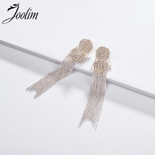 Joolim Jewelry Wholesale/Green Black White Bead Tassel Earring Statement Party Design Wholesale