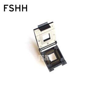FSHH QFN52 WSON52 UDFN52 MLF52 ic test socket Size=20mmx20mm Pin pitch=1.27mm