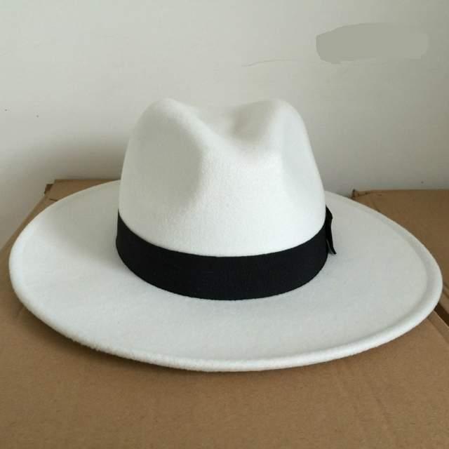 58b1c88f137 Online Shop Michael Jackson Cosplay Hats MJ Cos Adult Accessories Billie  Jean Smooth Criminal Dangerous Woolen Hat White Black Red Colors