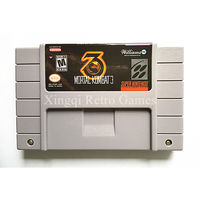 Super Nintendo SFC SNES Game Ultimate Mortal Kombat 3 Video Game Cartridge Console Card NTSC US