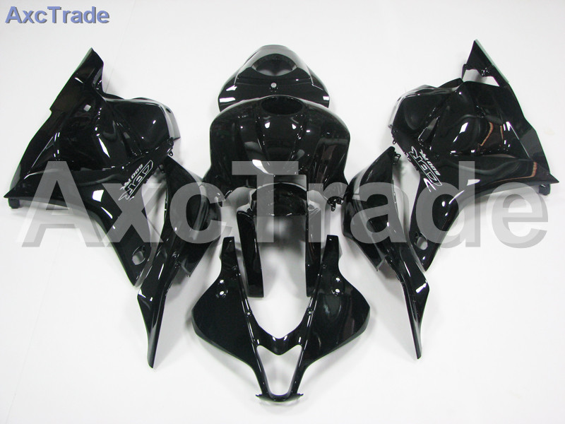 Motorcycle Fairings For Honda CBR600RR CBR600 CBR 600 RR 2007 2008 F5 ABS Plastic Injection Fairing Bodywork Kit Black A521 abs injection fairings kit for honda 600 rr f5 fairing set 07 08 cbr600rr cbr 600rr 2007 2008 castrol motorcycle bodywork part