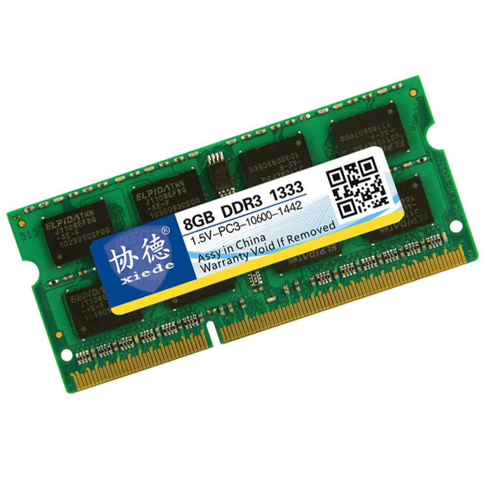DDR3 1333 8G Laptop PC Memory Memoria Module PC3 10600 Compatible with Intel Processor and AMD Processor