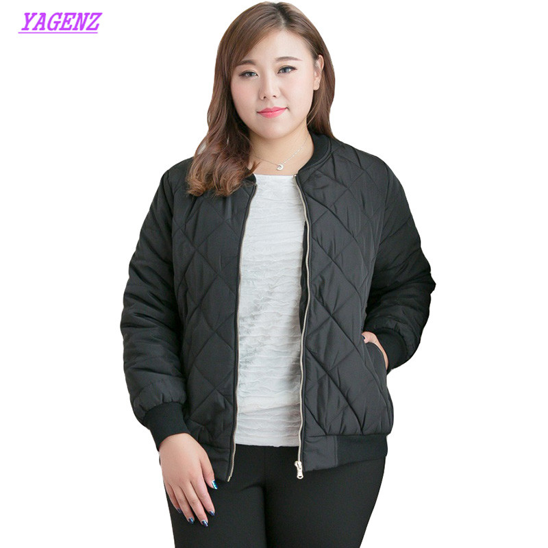 New Women Slim Long Cotton Outerwear Winter Warm Down cotton Jacket Young Women High quality Extra large size Overcoat 10XL B450