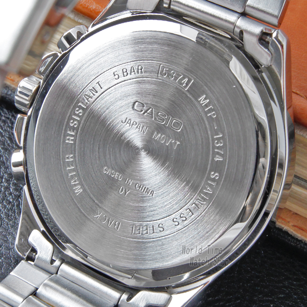Casio relógio relógio de pulso dos homens top marca de luxo relógio de quartzo homens luminosos à prova d 'água assista esporte militar assista reloj hombre erkek kol saati montre homme zegarek meski MTP 1374 - 3
