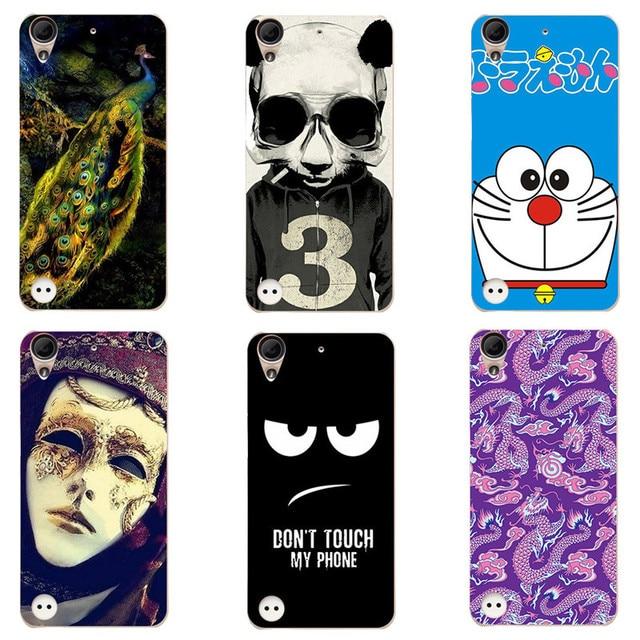 1f7961e8267 Cute Cartoon Case For HTC Desire 530 / Desire 630 Cover HD UV Printing Hard  Plastic Phone Back Shell Capa Funda