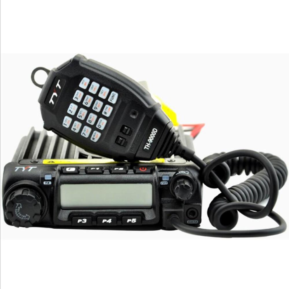 2016 Vente Chaude TYT TH-9000D mobile Radio VHF 136-174 mhz 60 Wattes émetteur-récepteur TH9000D voiture radio Livraison Gratuite