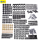 450pcs technic series parts car model building blocks set compatible with designer toys for kids boys toy building bricks gears