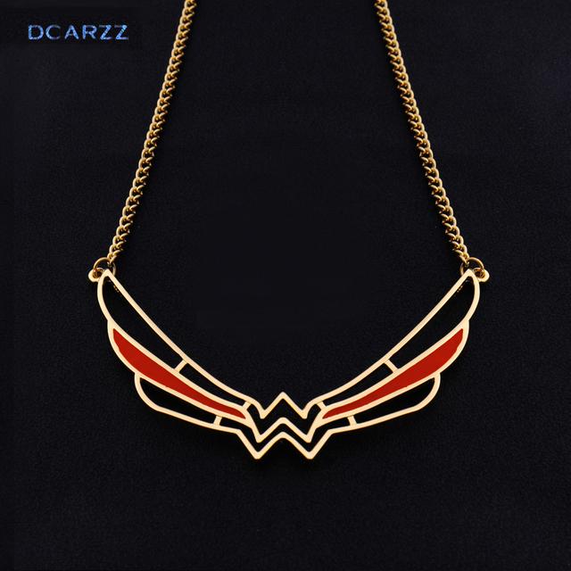 2017 Wonder Woman Symbol Collar Necklace