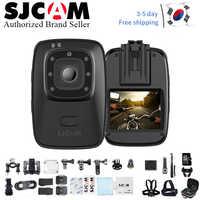 2019 nuevo SJCAM A10 Mini cámara portátil IR-Cut visión nocturna Cámara de Acción de posicionamiento láser usable cámara de seguridad infrarroja