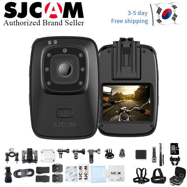 كاميرا صغيرة قابلة للحمل SJCAM A10 جديدة لعام 2019 رؤية ليلية مقطوعة بالأشعة تحت الحمراء كاميرا مراقبة بالأشعة تحت الحمراء قابلة للارتداء