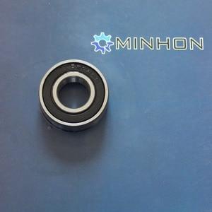 Image 2 - משלוח חינם MHF 10 יחידות 6202RS 16mm רדיאלי מיסבים כדוריים מיניאטורות 6202/16 חותמות גומי אחד המחיר הטוב ביותר ביצועים גבוהים