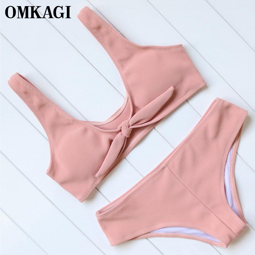 OMKAGI Brand Brazilian Bikini 2017 Swimsuit Swimwear Women S Swimming Bathing Suit Beachwear Sexy Push Up