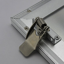 Manufacturer Stainless steel fastener for led panel, nickel clip spring with metal panel