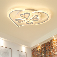 NEO Gleam Living Room Bedroom Wedding Room Modern Led Ceiling Lights White Color Acrylic Shade 85 265V Ceiling Lamp Fixtures