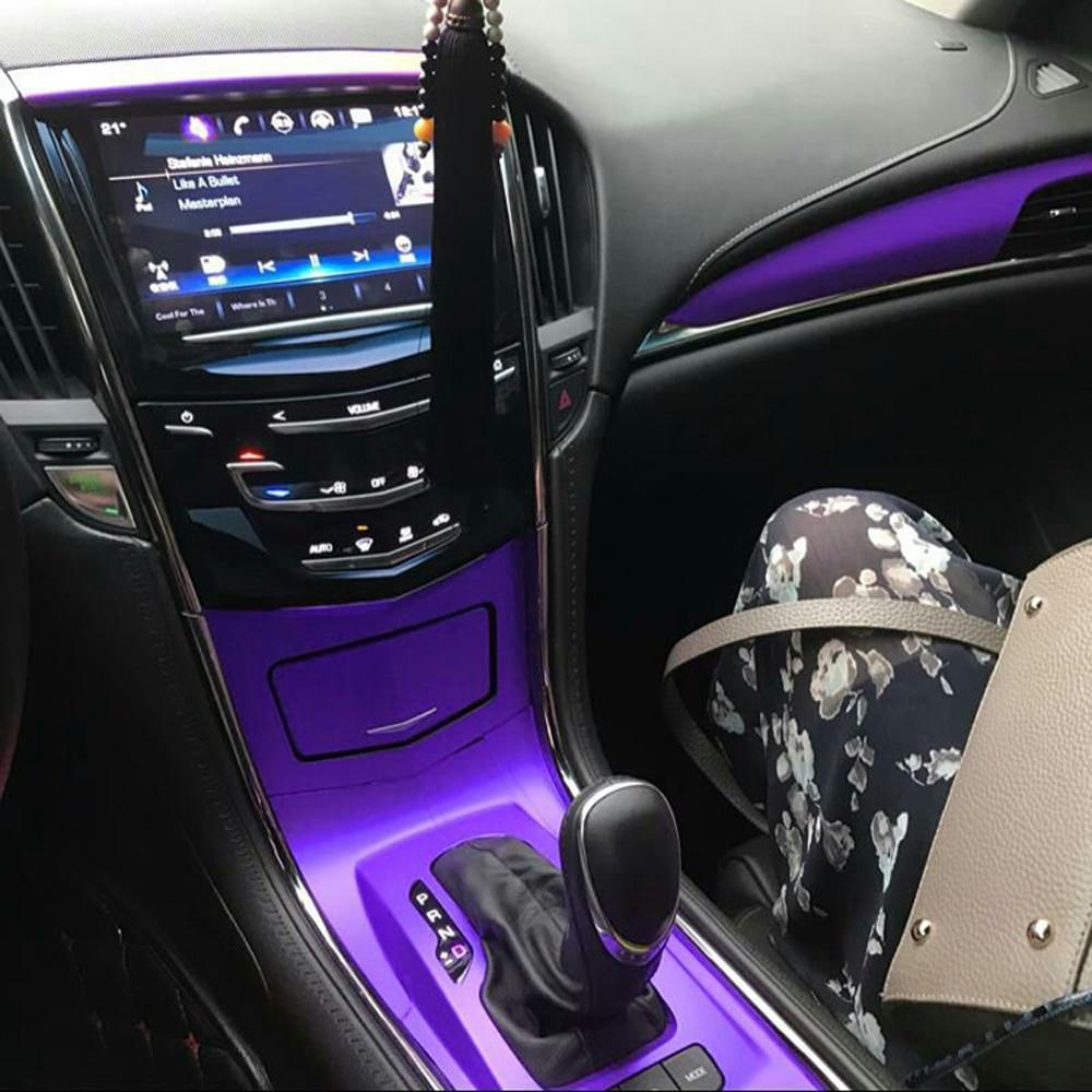 2pcs Car Interior Trim Bling Accessories Central Control Multimedia Knob Rhinestone Decals Fit for Cadillac 2019 2020 CT6// XT4 //2020 XT5 //XT6 Silver