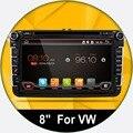 Android 4.4 Новый 8 Дюймов 2 DIN 800*480 Автомобиль DVD GPS Для VW Passat B6/B7/Passat CC с Wi-Fi Canbus и бесплатно 8 Г Карты и карта