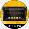 Android 4.4 New 8 Inch 2 DIN 800*480 Car DVD GPS For VW Passat B6 / B7 / Passat CC with WiFi Canbus and free 8G Card and Map