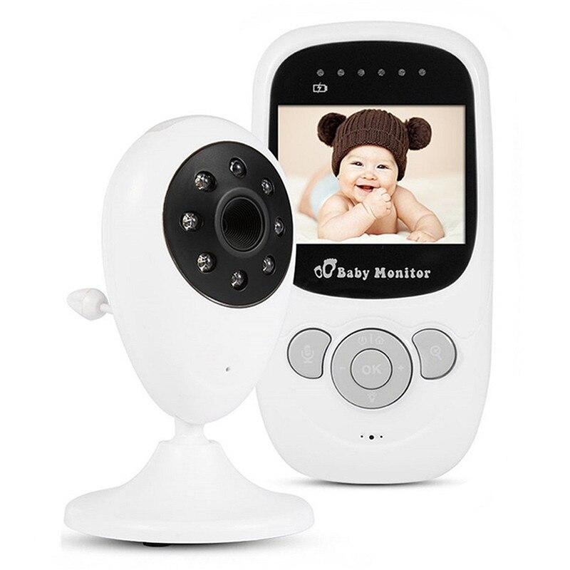 bilder für 2,4 GHz Drahtlose Infant Radio Babysitter Digital Video Kamera Baby Monitor Audio Nachtsicht Temperaturanzeige Radio
