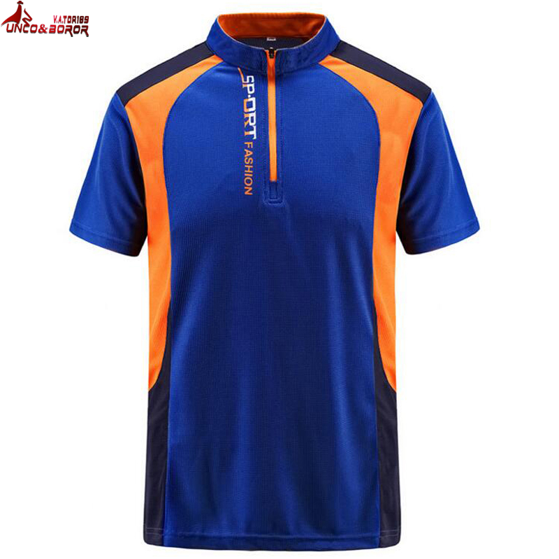 Plus Size 6XL 7XL 8XL Men T Shirts Summer Sports Running Top Tees Men`s Patchwork Outdoor Quick Dry Tshirt Sportwear T-shirt