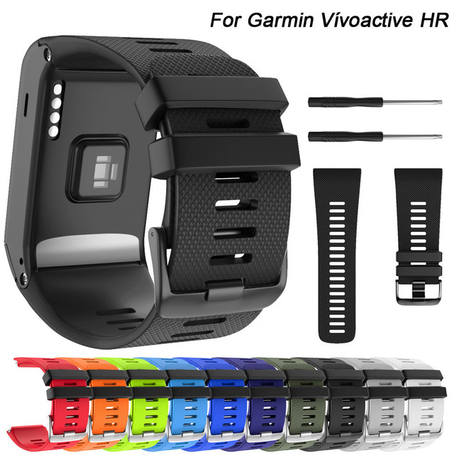30mm Watch Strap Fashion Sport Soft Silicone Replacement Strap Watch Band for Ga