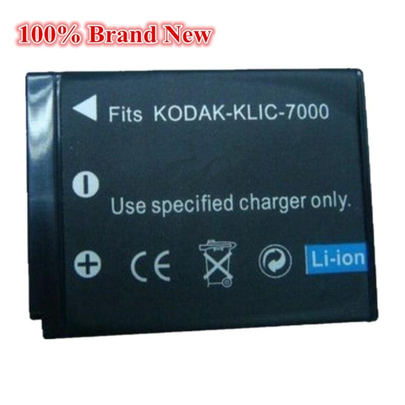 1300 мАч 100% Новый Сменный аккумулятор для камеры Kodak KLIC 7000 KLIC-7000 LS755 Zoom M590 M 590