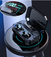Latest Version Wireless Earphones, Bluetooth 5.0 True Wireless Earbuds IPX7 Waterproof Built in Mic Headset for iOS, Android
