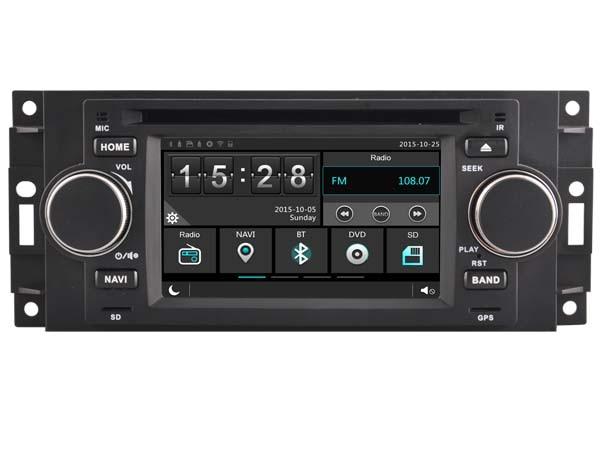 Voiture Gps Dvd HeadUnit Radio pour Chrysler PT Cruiser 2006-2008 Aspen 300 Navigation phonemirates 3G Wifi OBD DVR Bluetooth Igo carte