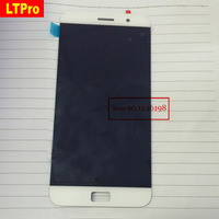 2015 New TOP Quality White Full LCD Display Touch Screen Digitizer Assembly For Lenovo ZUK Z1